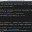 Markdown source file