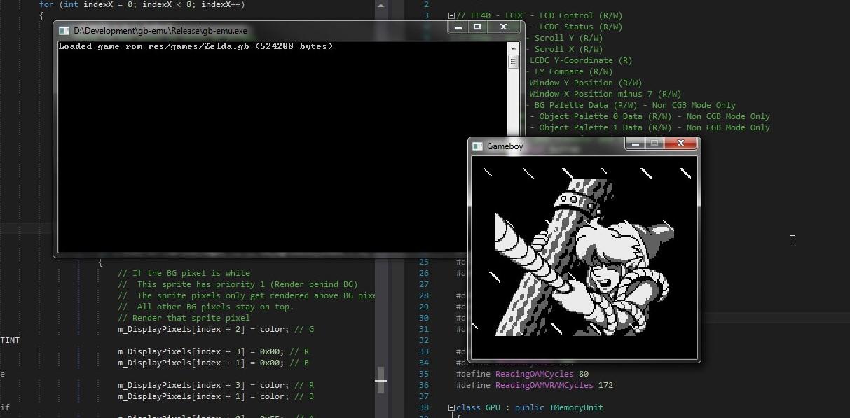 GameLad – Gameboy emulator written in C++ – 0-0x