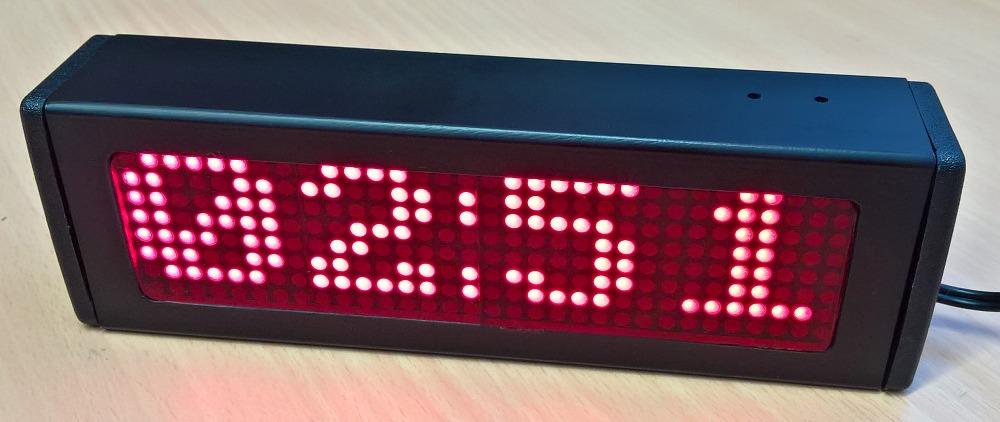 alt Arduino Matrix Clock