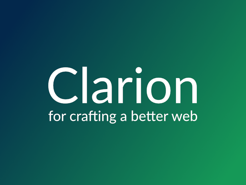 product clarion logo