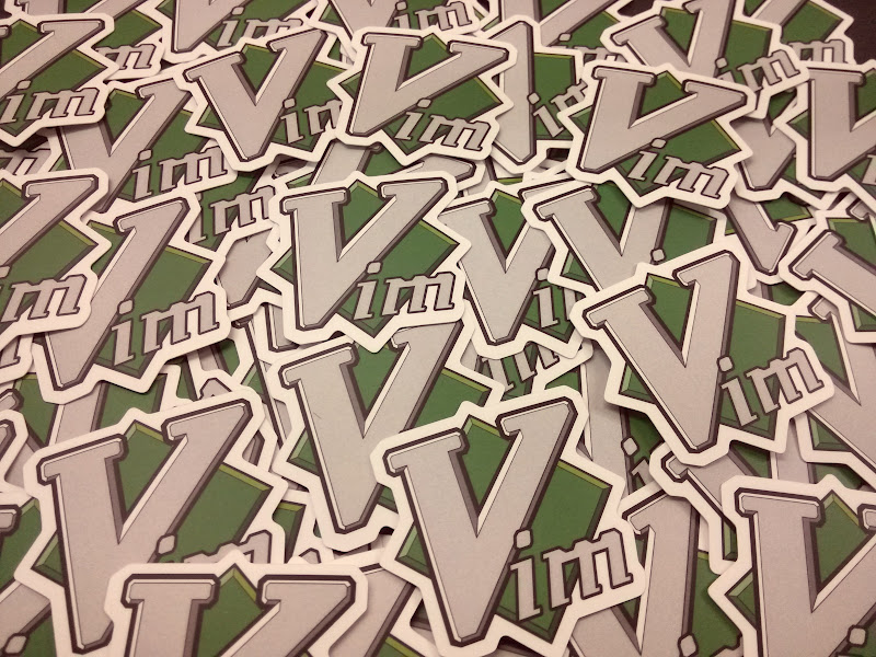 Vim (editor) sticker