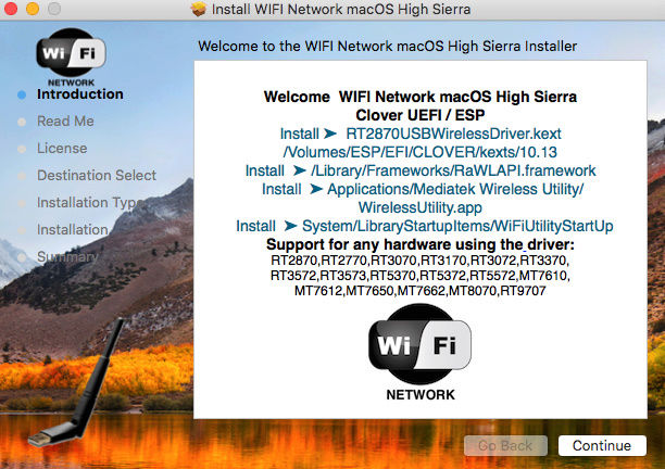 High Sierra Wifi Not Connecting