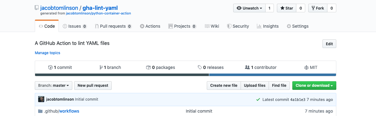 Our new Action repo