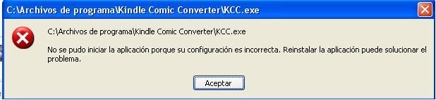 KCC not working :( · Issue #75 · ciromattia/kcc · GitHub