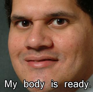 My body, it is ready