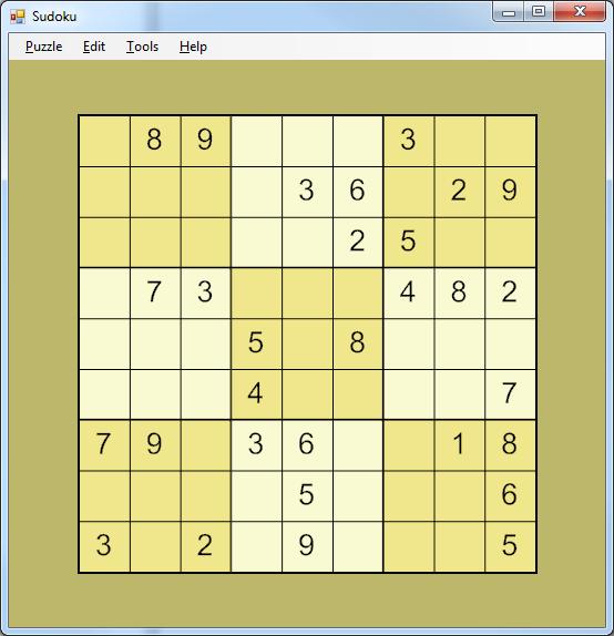 GitHub - gtarawneh/sudoku: Sudoku in C# (solver, enumerator