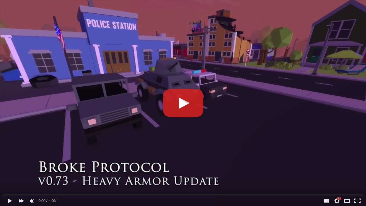v0.73 - Heavy Armor Update - Trailer