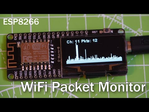 WiFi Packet-Monitor ESP8266