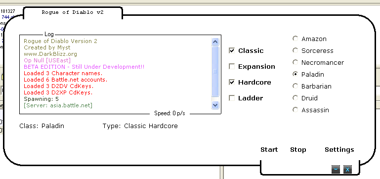 GitHub - BinaryNinjas/Rogue-of-Diablo-v2: A clientless, fast