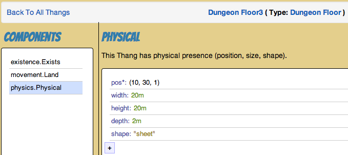 Dungeon Floor Thang example