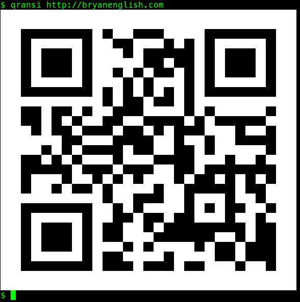 QR code of http://bryanenglish.com