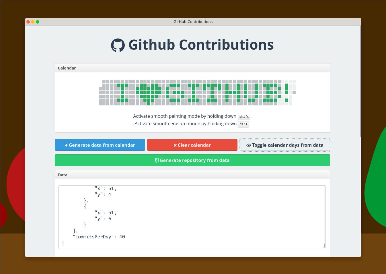 GitHub timeline hack