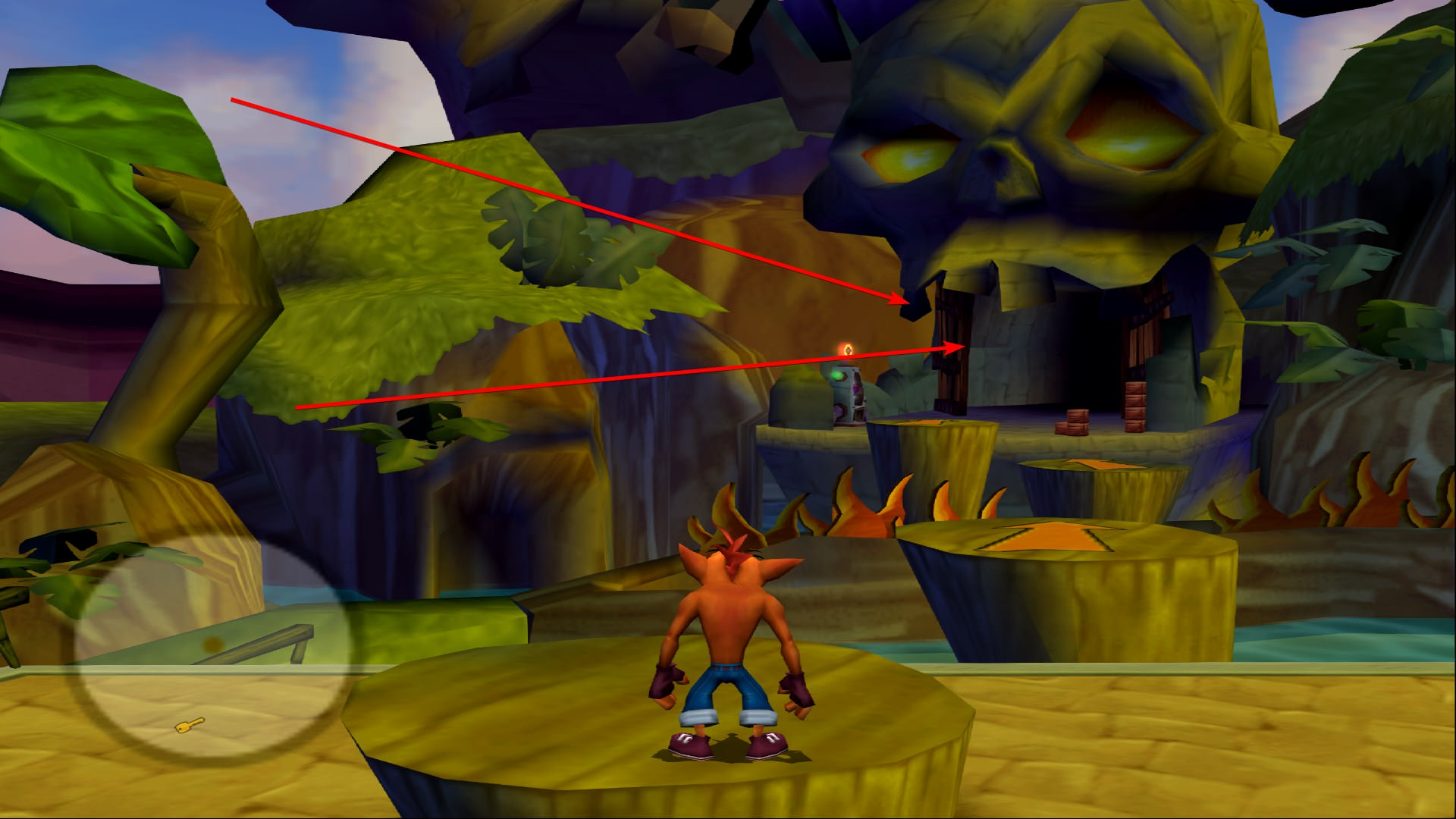 Crash Tag Team Racing Freezing after climbing the ladder first level
