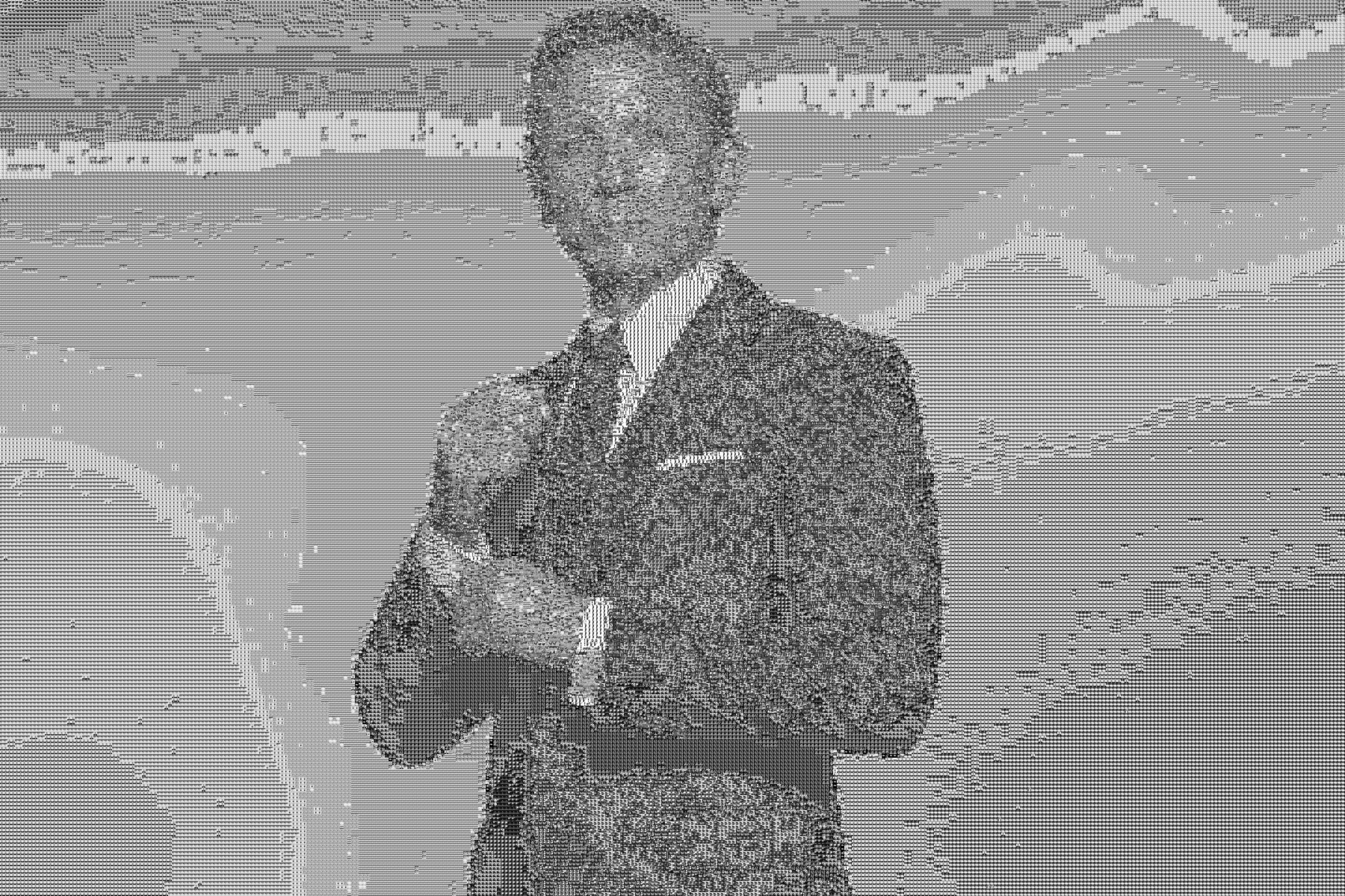 bond3 grayscale mosaic examples