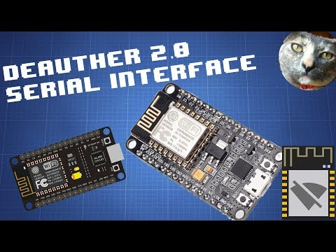 @PwnKitteh made this video about deauther 2.0 serial commands.