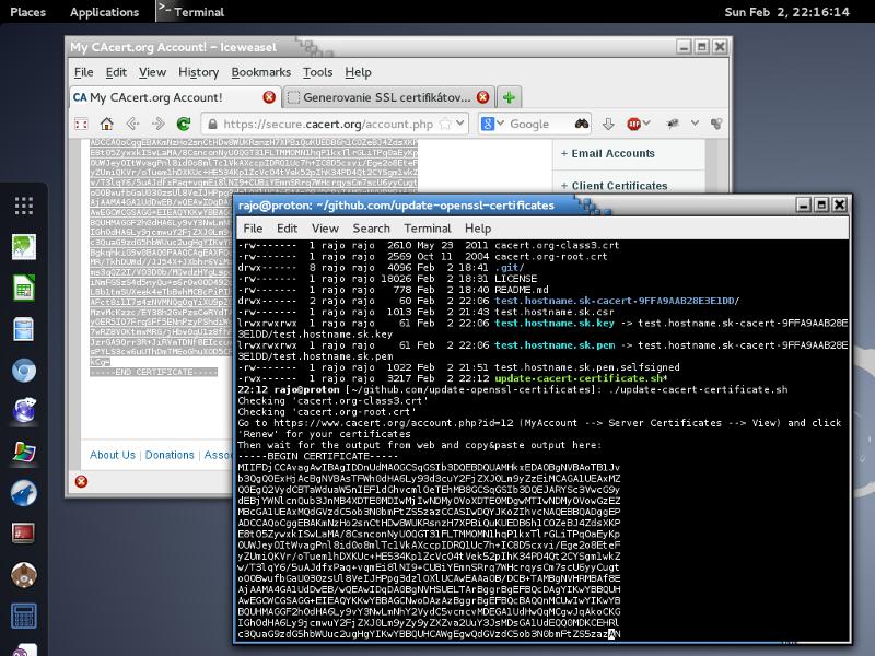 Github Lhostupdate Openssl Certificates Manage Openssl