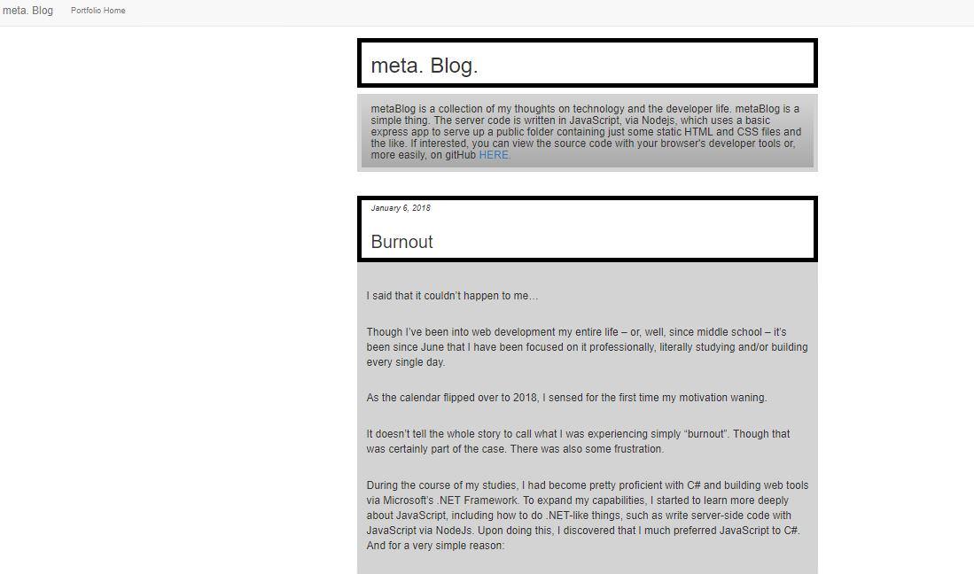 GitHub - sbogucki12/metablog: A server written in JavaScript