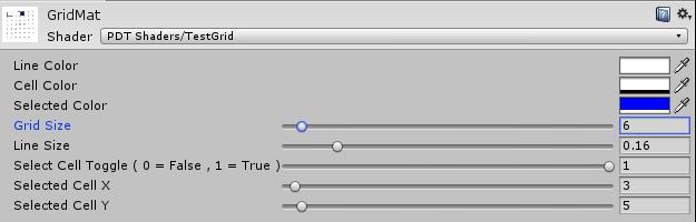 GitHub - r3eckon/Unity-SimpleGrid-Shader: Simple alpha cutout grid