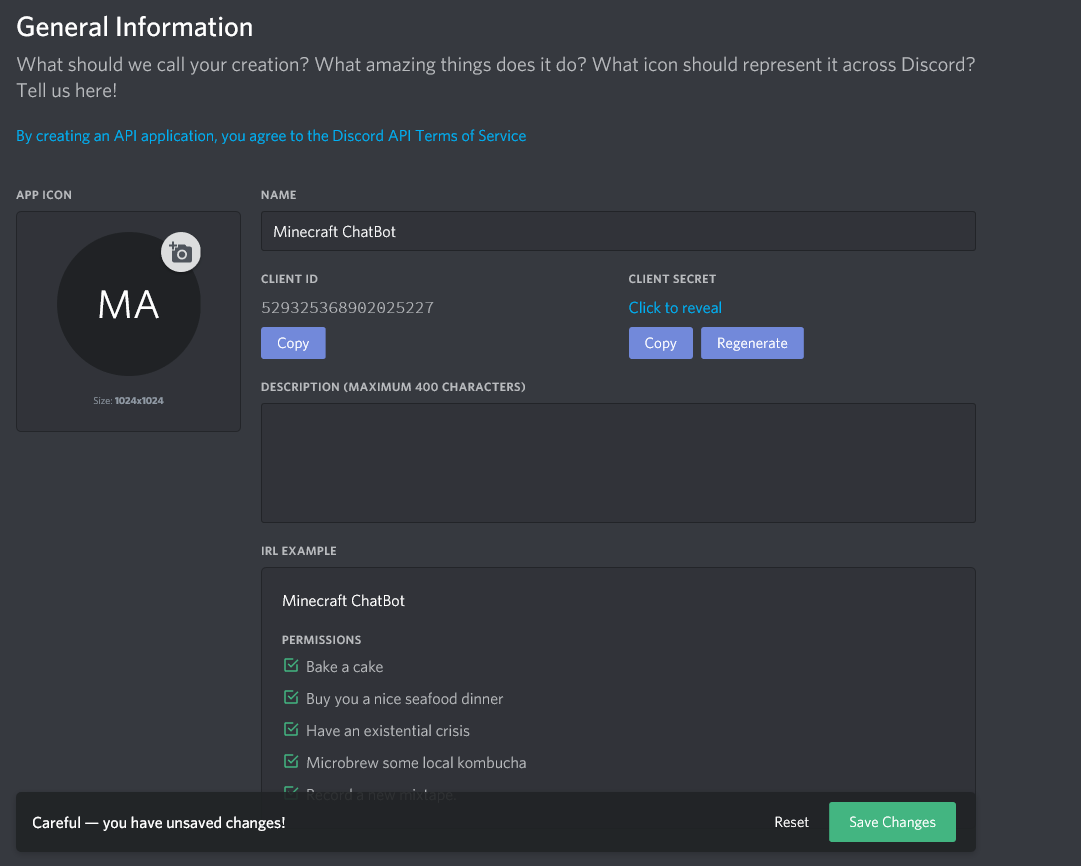 How to get a token and channel ID for Discord · Chikachi