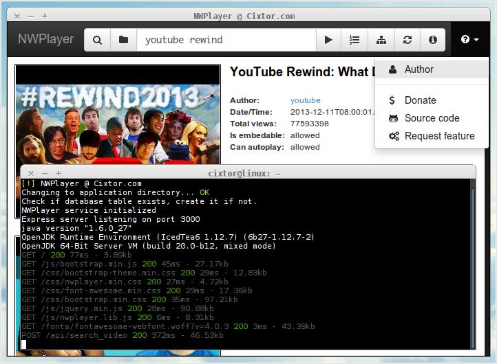 NWPlayer Screenshot