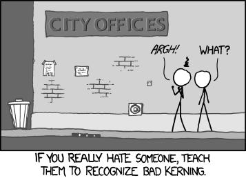 """""""Kerning"""""""