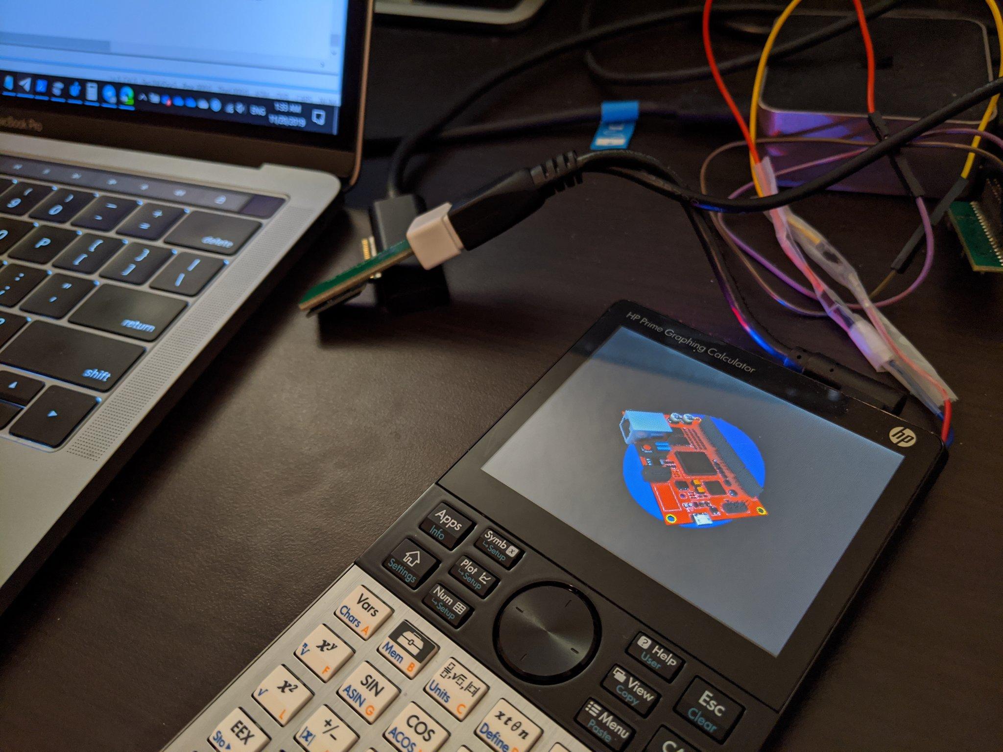 Windows IoT on HP Prime G2 Calculator