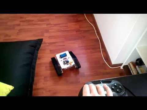 Geekcreit DIY T300 NodeMCU WiFi controlled tank · zeroflag