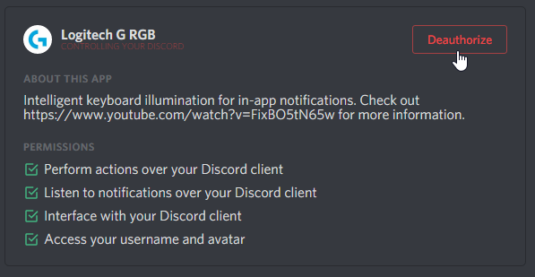 lighting effects stops when someone talks on discord or when