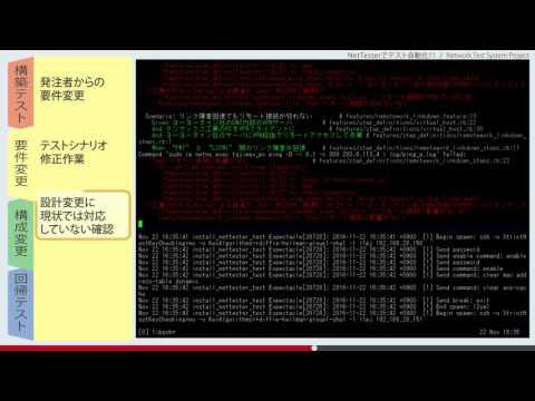 NetTesterでテスト自動化! Network Test System Project - YouTube