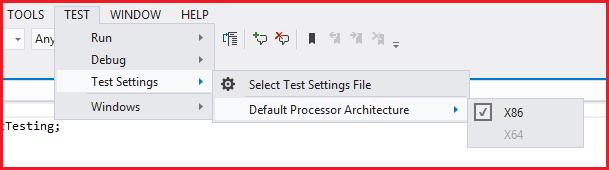Match the Processor Architecture