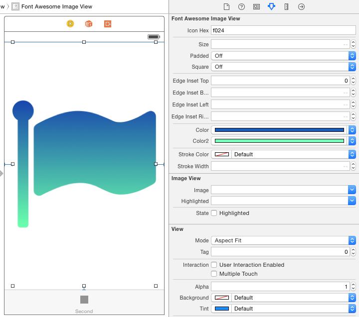screenshot Interface Builder