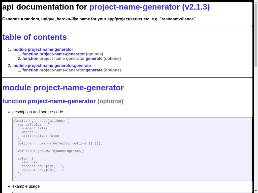 GitHub - npmdoc/node-npmdoc-project-name-generator