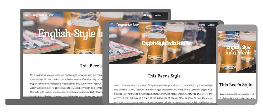 Progressive Beer App
