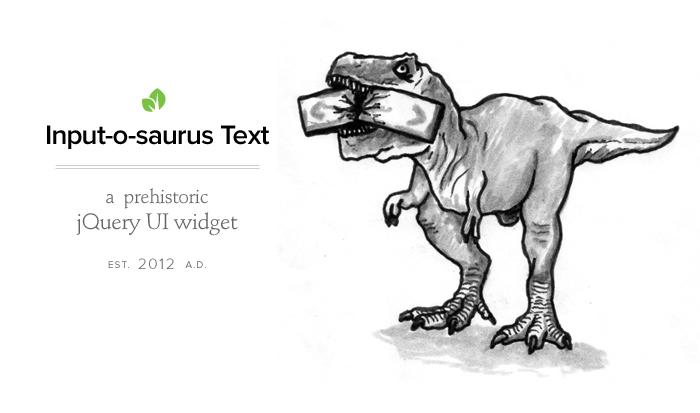 Inputosaurus Text