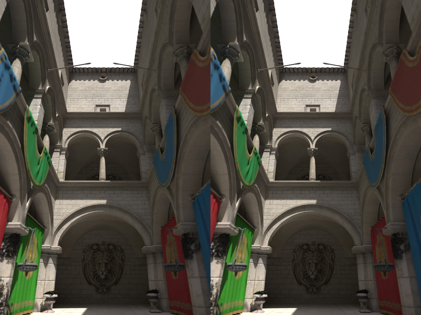 Example 3D stereo image using stereoMode = OSP_STEREO_SIDE_BY_SIDE.