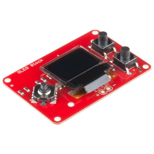 SparkFun Edison OLED Block