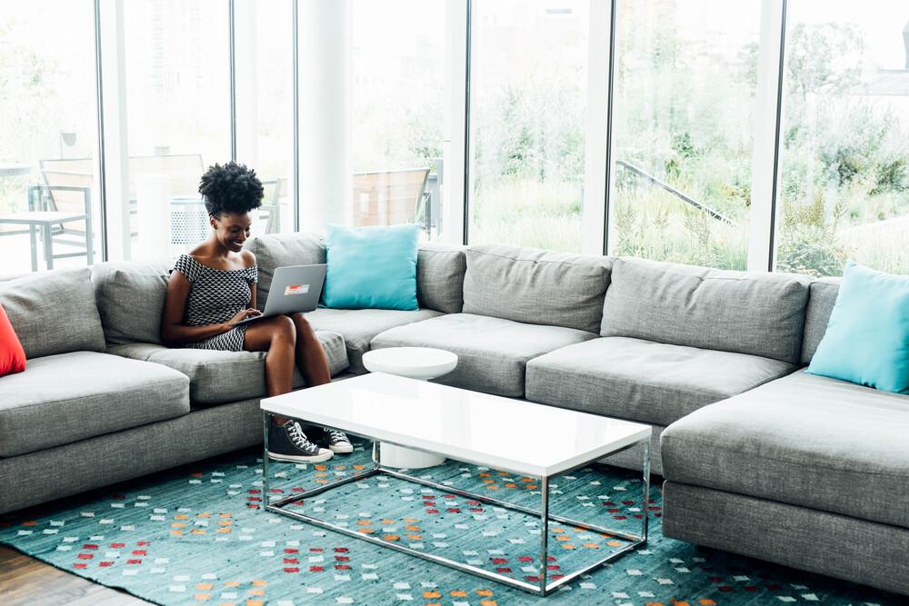 BuzzFeed: Work lounge