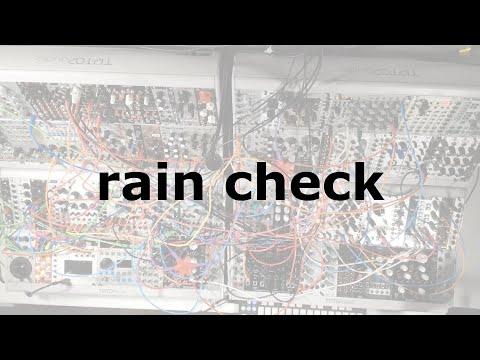 rain check on youtube