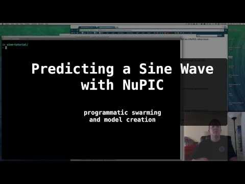 Predicting Sine Waves with NuPIC