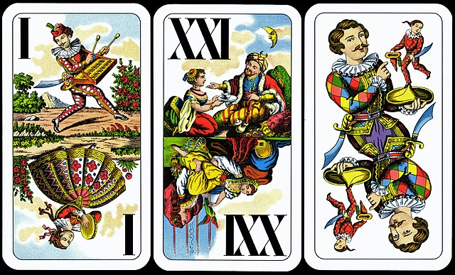Tarok trull cards