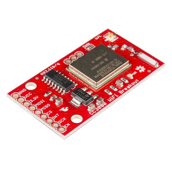 TI CC3000 WiFi Breakout Board