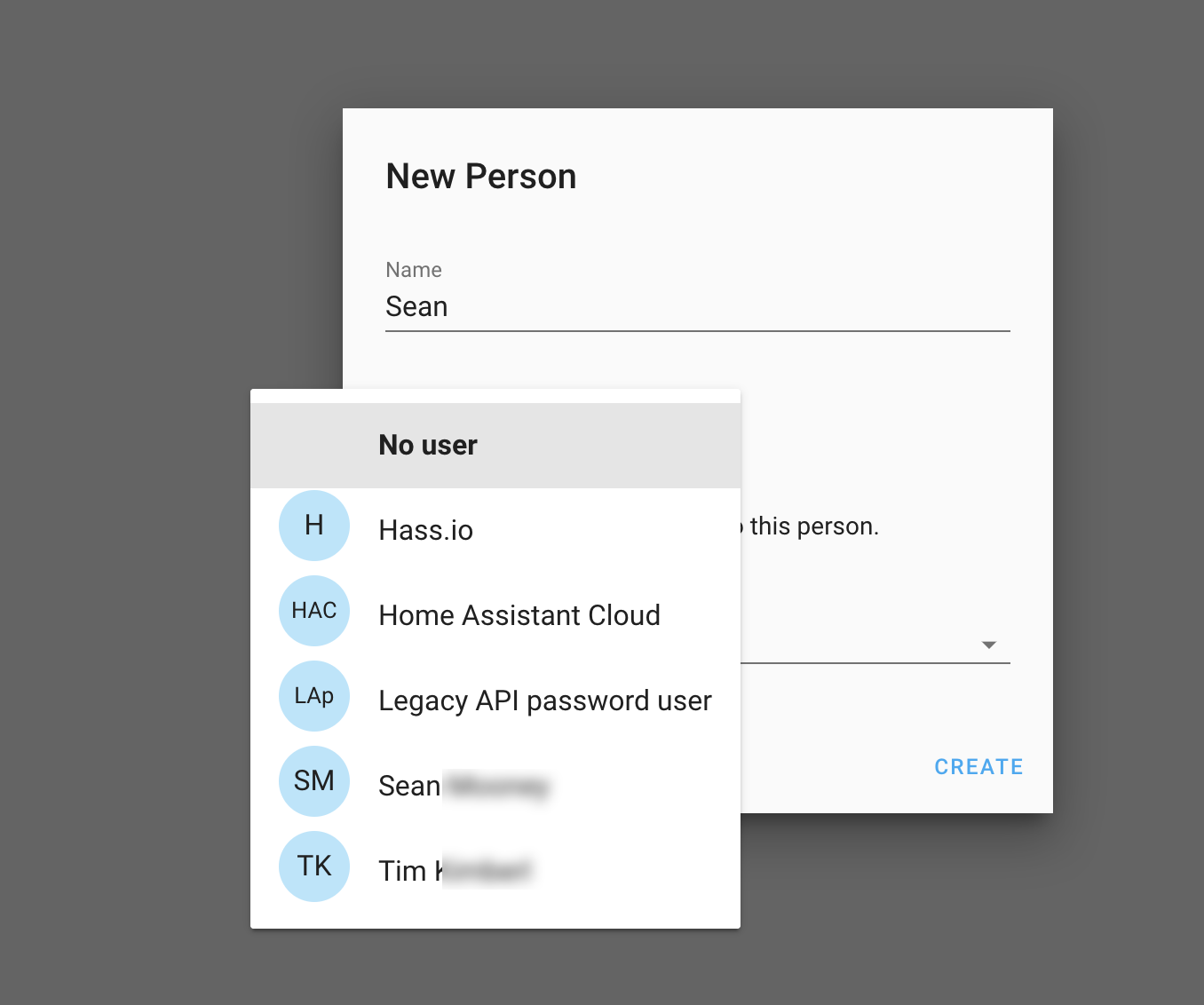 Person Editor shows system generated users · Issue #3005