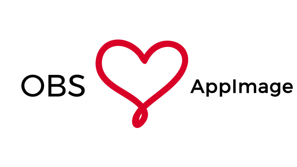 OBS loves AppImage
