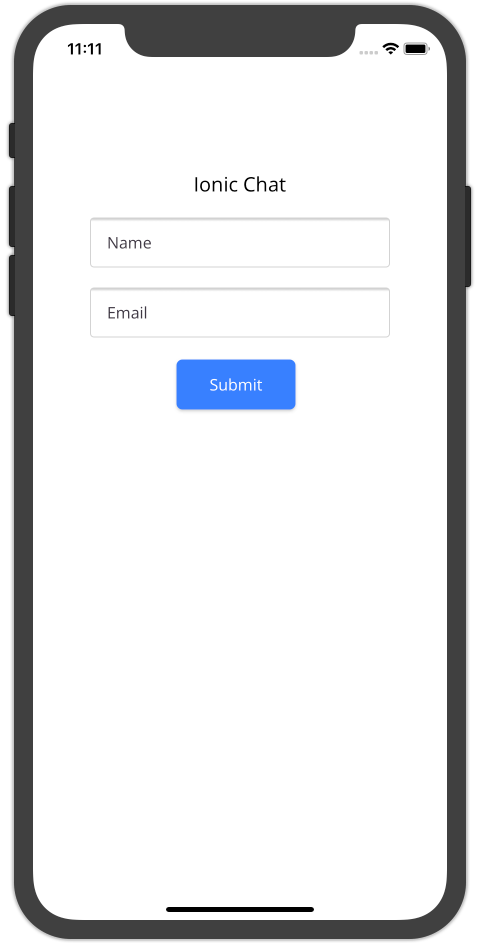 Android Ionic React Login