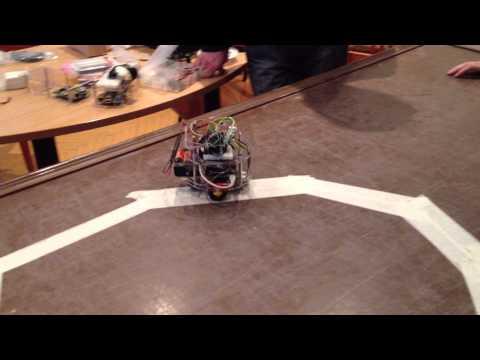 Учебный робот-следопыт на основе Raspberry Pi