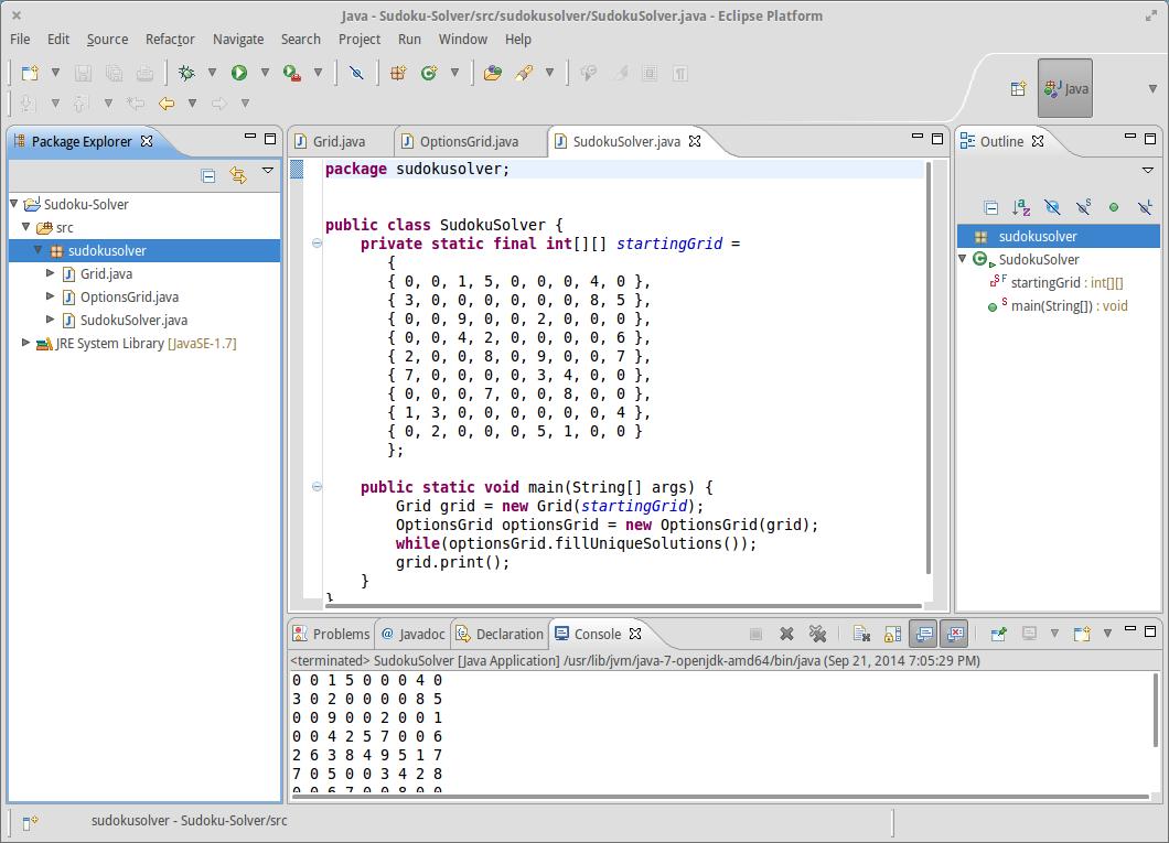 GitHub - kjarosz/Sudoku-Solver: Solves sudoku puzzles