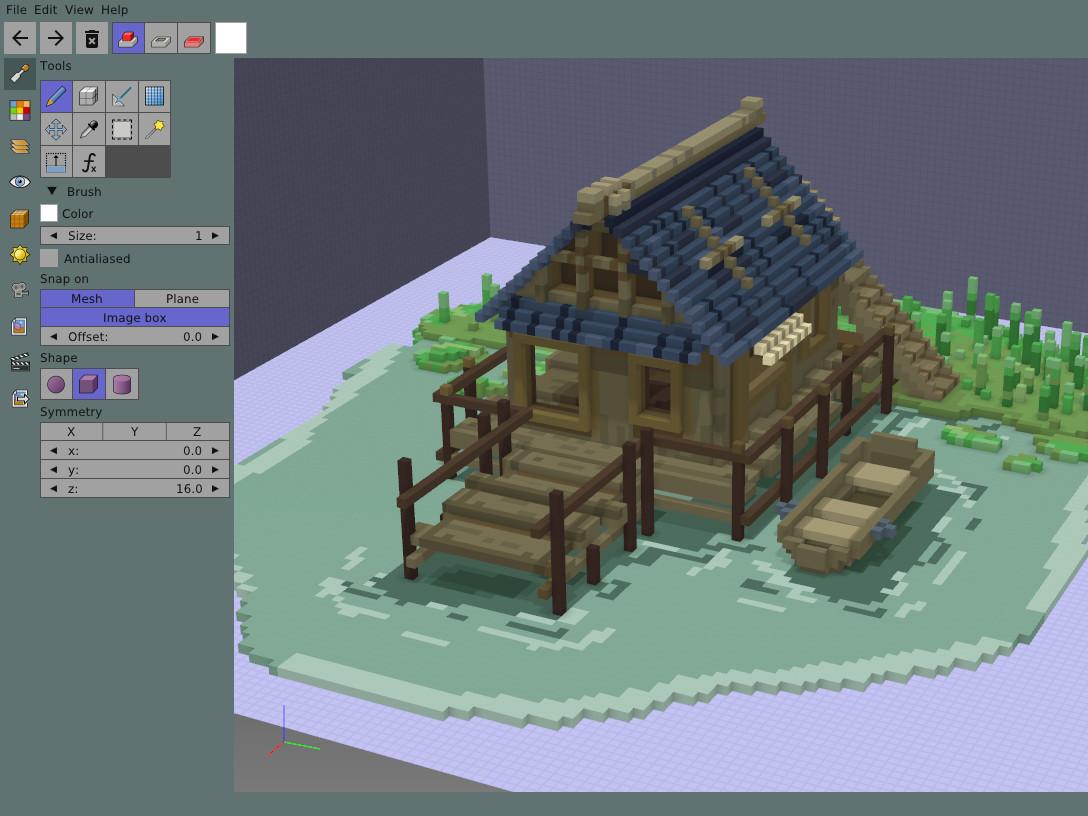 goxel screenshot 0