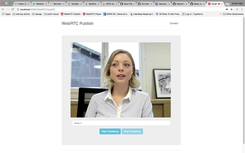 Open WebRTCAppEE