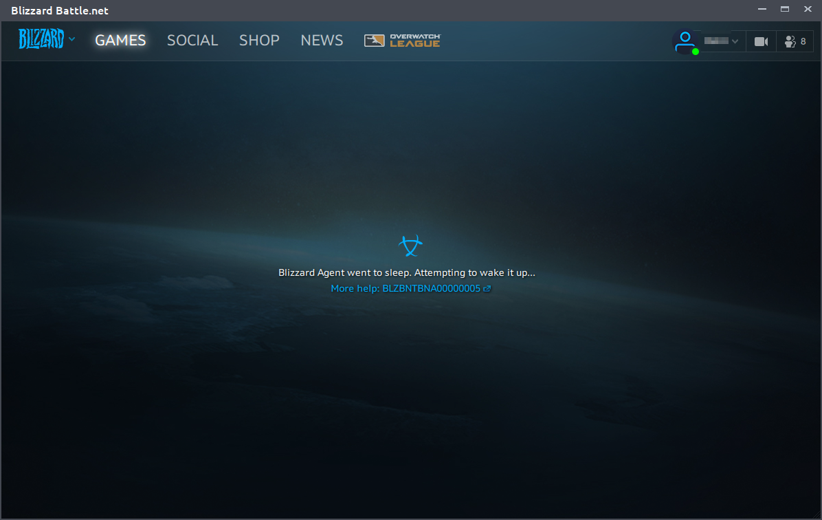 blizzard launcher not working