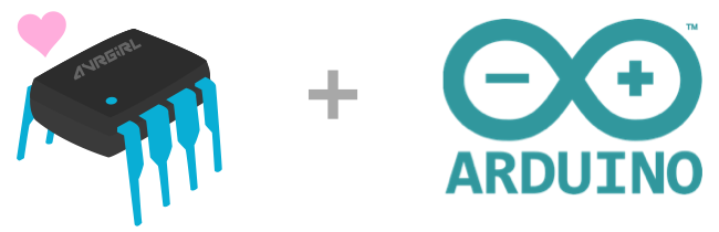 avrgirl logo + arduino logo